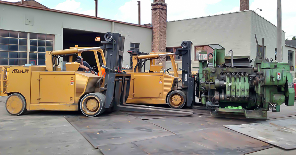 Dismantling and Scrap Removal - Crane Services - Diamond Rigging Corp