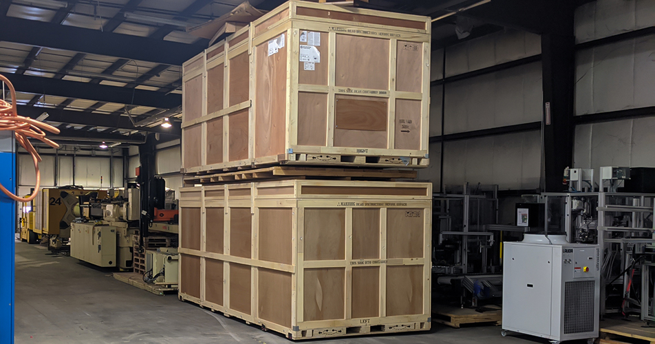 Export Crating and Domestic Packaging - Diamond Rigging Corp.