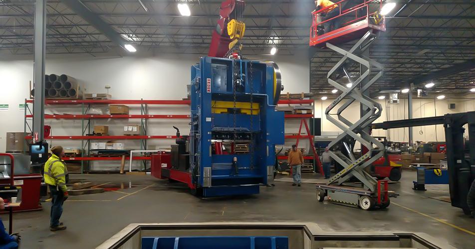 Machinery Moving - Diamond Rigging Corp