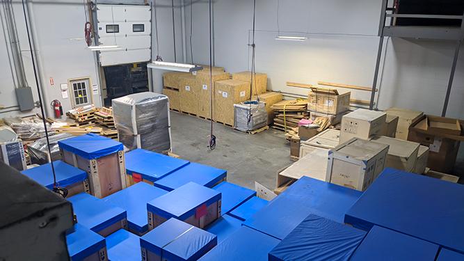 Storage and Warehousing - Diamond Rigging