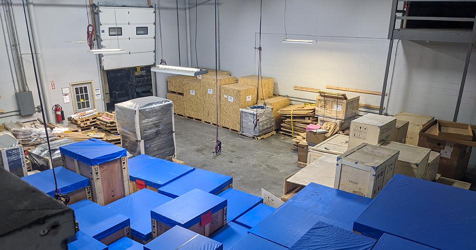 Storage and Warehousing - Diamond Rigging Corp.